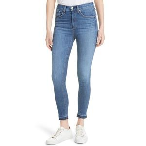 EUC rag & bone High Waist Ankle Skinny